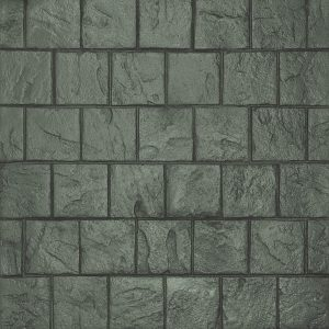 Ardesia Series - 8x8 Running Bond Slate - Slate Grey