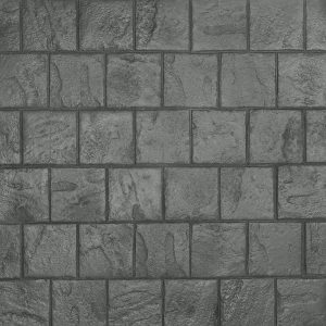 Ardesia Series - 8x8 Running Bond Slate - Platinum