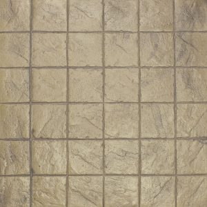Ardesia Series - 8x8 Stacked Bond Slate - Sand