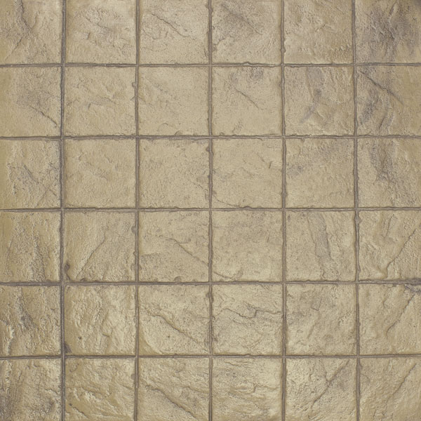 XStackedBondSlateAsand Patterned Concrete - 8x8 slate tile