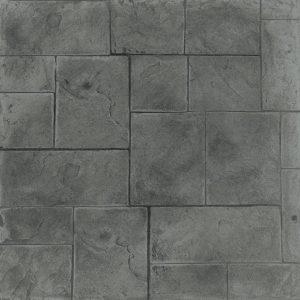 Ardesia Series - Ashlar Slate - Platinum and Charcoal Highlights