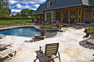 Pools and Backyards