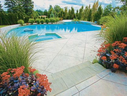 Pools & Backyards