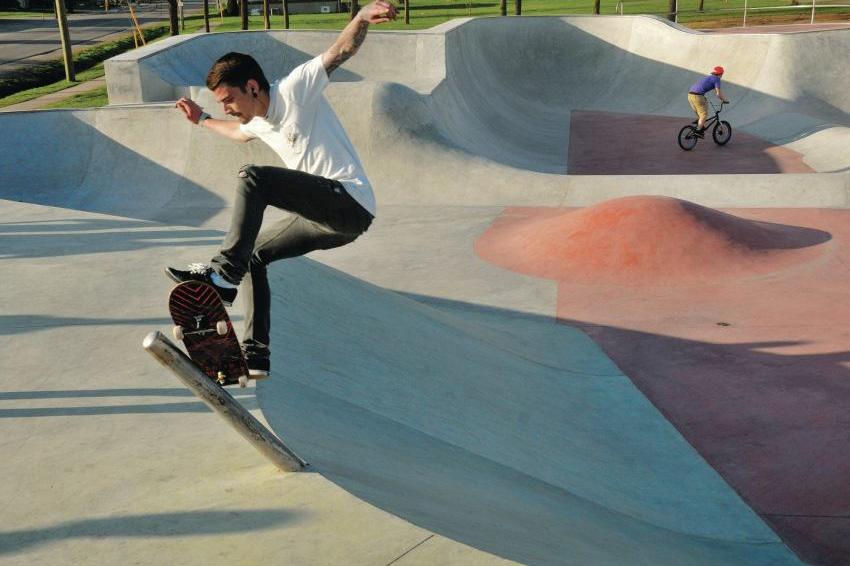 Smooth Sailing For All-Concrete Skate Park