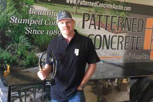 Patterned Concrete Austin