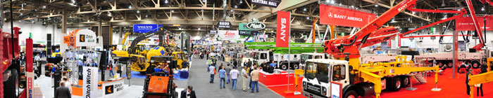 Trade shows are one way we increase brand awareness for our stamped concrete franchises