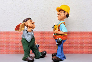 A hard day on the job can make customer relations difficult