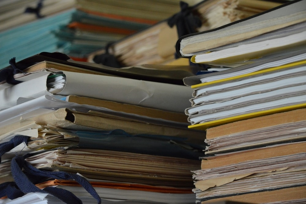 it's best to have paperwork organized before you need it