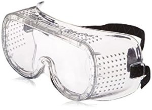 safety goggles help keep your eyes safe