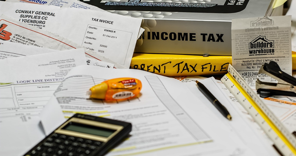 save paperwork to keep track of income and expenses